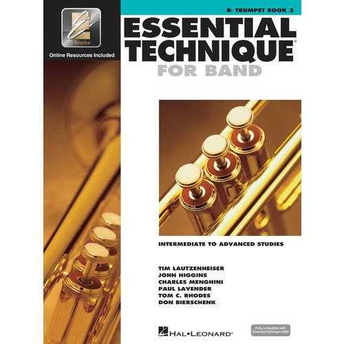 Essential Elements Trumpet Book 3