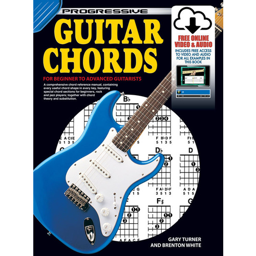 Progressive Guitar Chords Book/Online Video & Audio