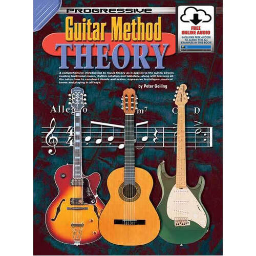 Progressive Guitar Method Theory Book/CD