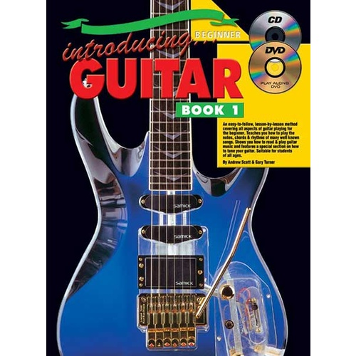 Introducing Guitar  Book 1 Book/CD/DVD