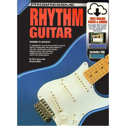 Progressive Rhythm Guitar Book/CD/DVD
