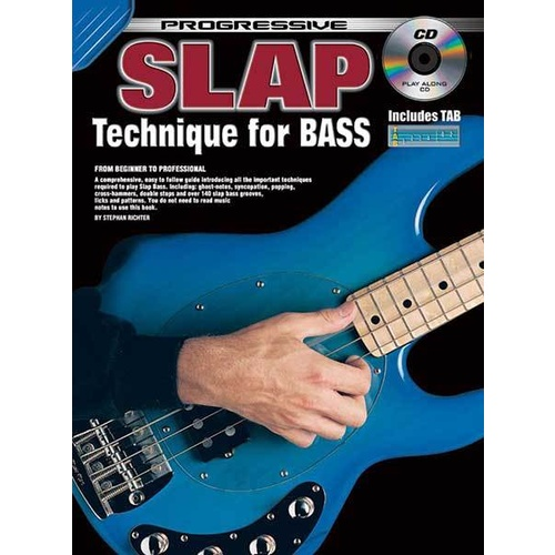 Progressive Slap Technique for Bass Book/CD