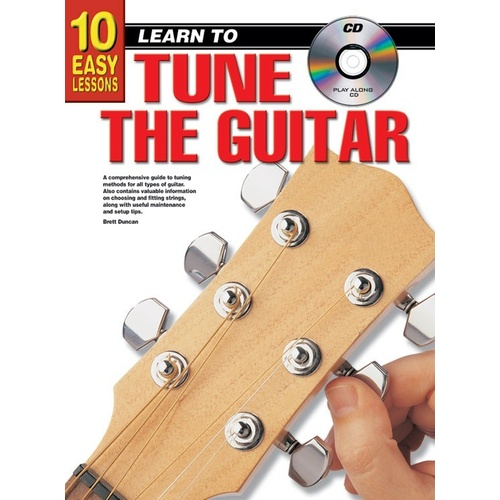 10 Easy Lessons Learn To Tune Guitar Book/CD