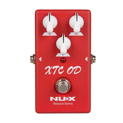 NUX Reissue Series XTC OD Overdrive Guitar Effect Pedal