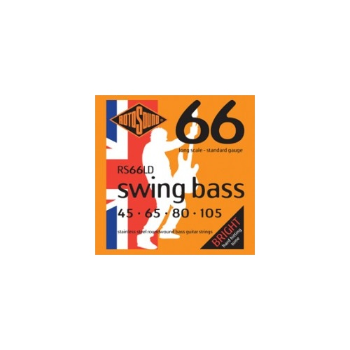Rotosound RS66LD Swing Bass 66 .45-.105 Electric Bass Guitar Strings