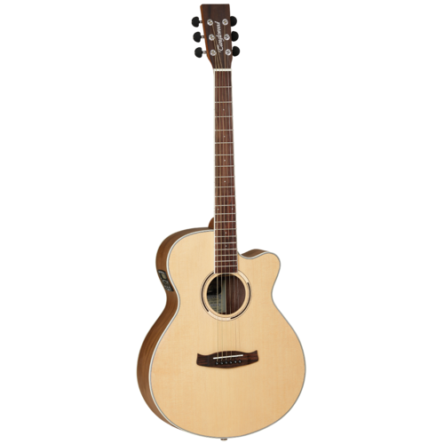 Tanglewood TDBTSFCEBW Discovery Exotic Black Walnut Acoustic/Electric Guitar